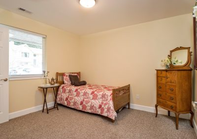 Bed 2 Bright Window